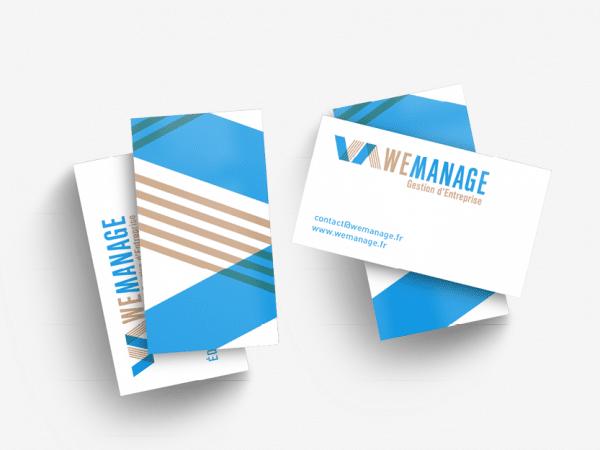 <span>Identité visuelle de We Manage</span><i>→</i>