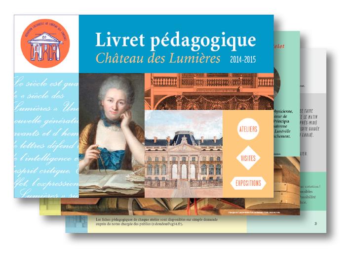 édition livret pédagogique château luneville 3